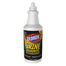 Clorox Urine Remover Disinfectant Clean Floral