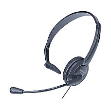 Panasonic KX TCA400 Lightweight Headset Black