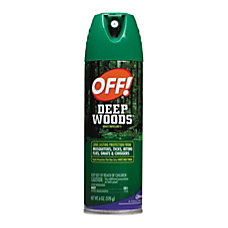 OFF Deep Woods Unscented Aerosol Insect