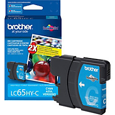 Brother Cyan Ink Cartridge Cyan Inkjet