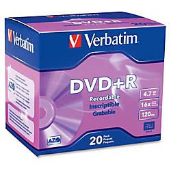 Verbatim AZO DVDR 47GB 16X with
