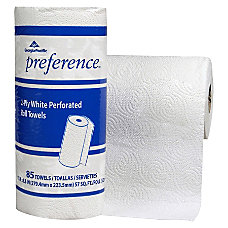 Georgia Pacific Preference 2 Ply Paper