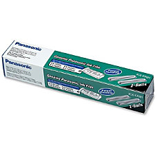 Panasonic Fax Film Ribbon Thermal Transfer
