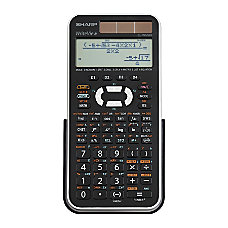 Sharp EL W516XBSL Scientific Calculator