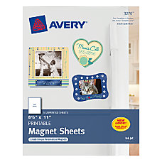 Avery Magnet Sheets 8 12 x