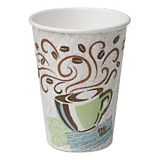 Dixie PerfecTouch Insulated Hot Cups 12