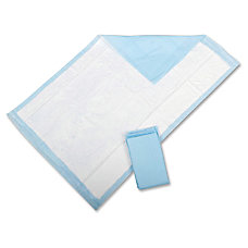 Protection Plus Disposable Underpads Light Blue
