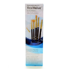 Princeton Real Value Paint Brush Set