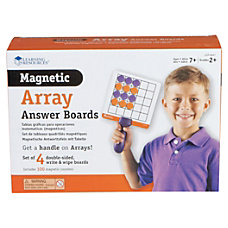 Learning Resources Array Answer Magnetic Dry