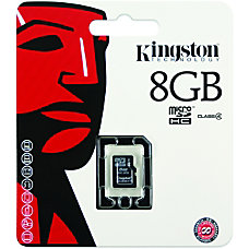 Kingston 8GB Micro Secure Digital High