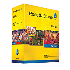 Rosetta Stone V4 Japanese Level 1