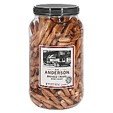 Anderson Pretzels Honey Wheat Braided Pretzels