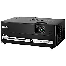 Epson MovieMate LCD LCD Projector 720p