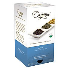 Organa Earl Grey Tea Pods 28