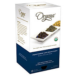 Organa English Breakfast Tea Pods 28