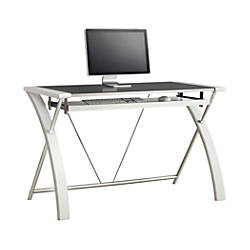 Whalen Furniture Zara Computer Desk White
