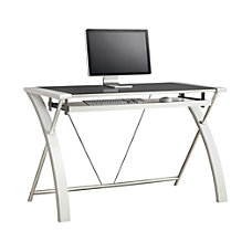 Whalen Furniture Zara Computer Desk White