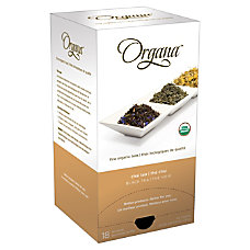 Organa Chai Tea Pods 28 Oz