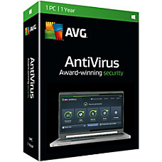 AVG AntiVirus 2016 1 User 1