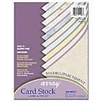Array Card Stock For Laser Inkjet