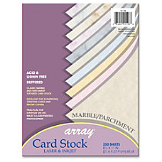 Array Card Stock Letter 850 x