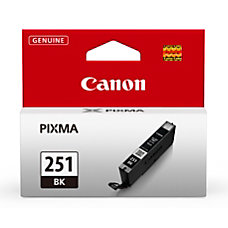 Canon CLI 251 Black Ink Tank