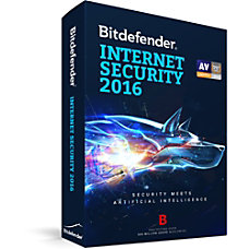 Bitdefender Internet Security 2016 3 Users