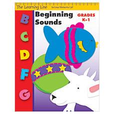 Evan Moor Learning Line Beginning Sounds