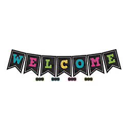 Teacher Created Resources Chalkboard Brights Welcome