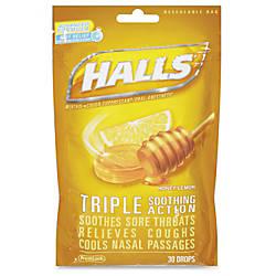 Cadbury Halls Honey Lemon Cough Drops