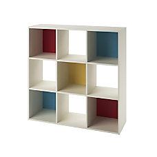 Ameriwood SystemBuild Wink 9 Cube Storage