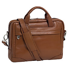 McKleinUSA Netbook Laptop Brief Brown