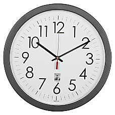 SKILCRAFT Self Set Wall Clock 14