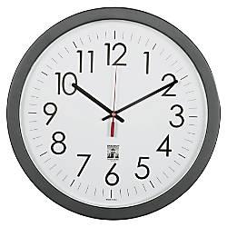 SKILCRAFT Self Set Wall Clock 14