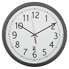 SKILCRAFT Self Set Wall Clock 16