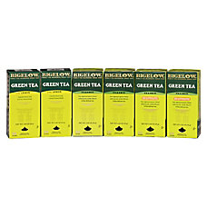 Bigelow Assorted Green Tea Bags Box