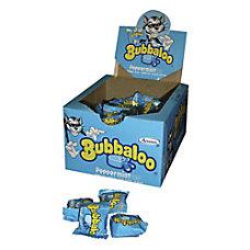 Bubbaloo Peppermint Gum 134 Oz Box