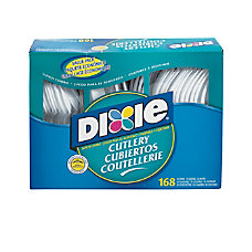Dixie Heavy Weight Plastic Cutlery Combo