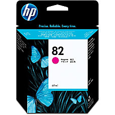 HP 82 Magenta Ink Cartridge C4912A