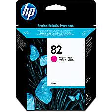 HP 82 Magenta Ink Cartridge C4912A