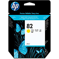 HP 82 Yellow Ink Cartridge C4913A