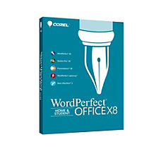 WordPerfect Office X8 Home and Student