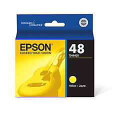 Epson 48 T048420 Yellow Ink Cartridge