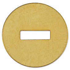 ACCO Brass Washers For Fastener Size