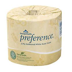 Georgia Pacific Preference Embossed Bathroom Tissue
