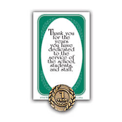 1 Year Of Service Lapel Pin