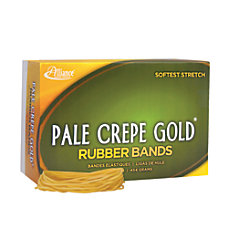 Alliance Rubber Pale Crepe Gold Rubber