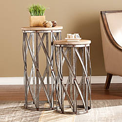 Southern Enterprises Mencino Accent Tables Round