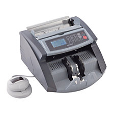 STEELMASTER 5520UM Counterfeit Currency Detector Black
