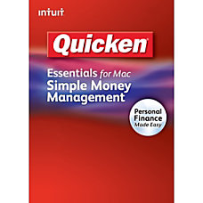 Quicken Essentials for Mac Download Version